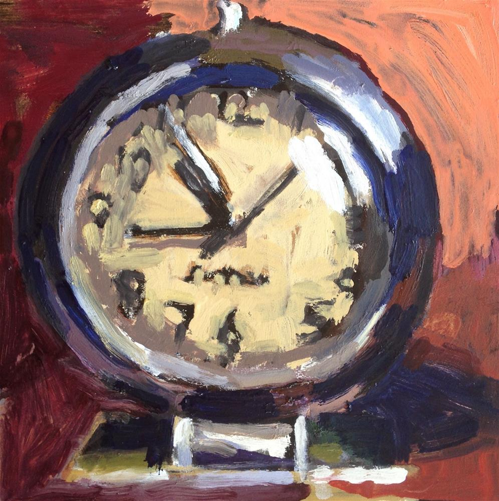 """It's About Time III"" original fine art by Pamela Hoffmeister"