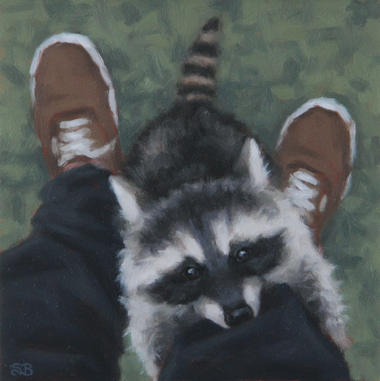 """Cricket"" original fine art by Sarah Becktel"