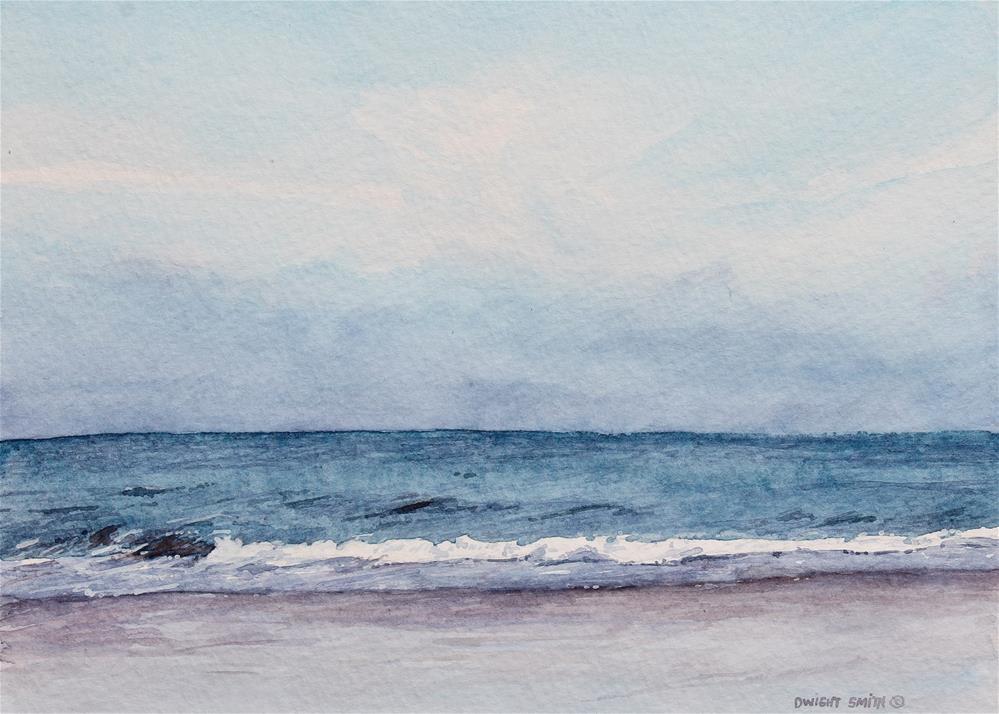 """"""" RAINY DAY """" original fine art by Dwight Smith"""