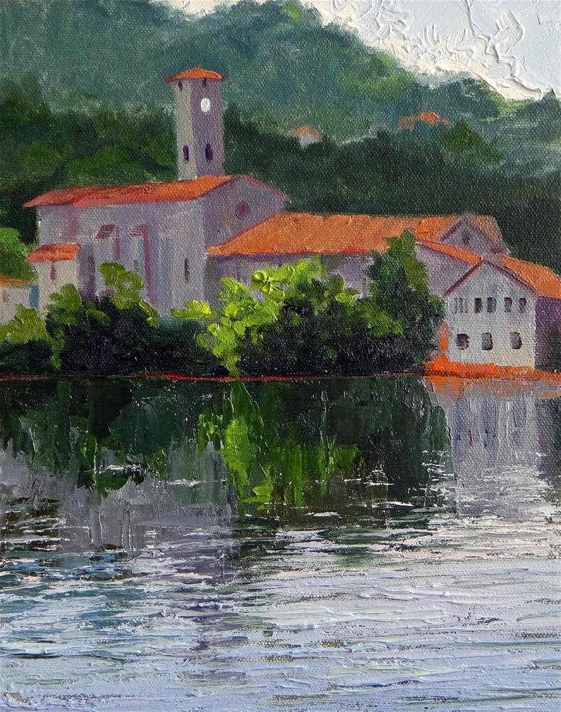 """Fumel, France"" original fine art by Nancy Paris Pruden"