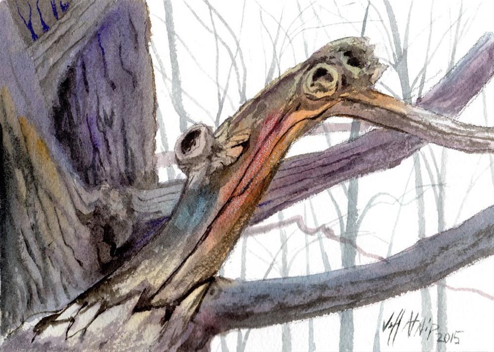 """Old Maple Study"" original fine art by Jeff Atnip"