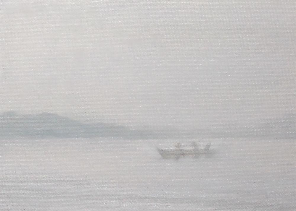 """""""Foggy ii"""" original fine art by Beth Moreau"""