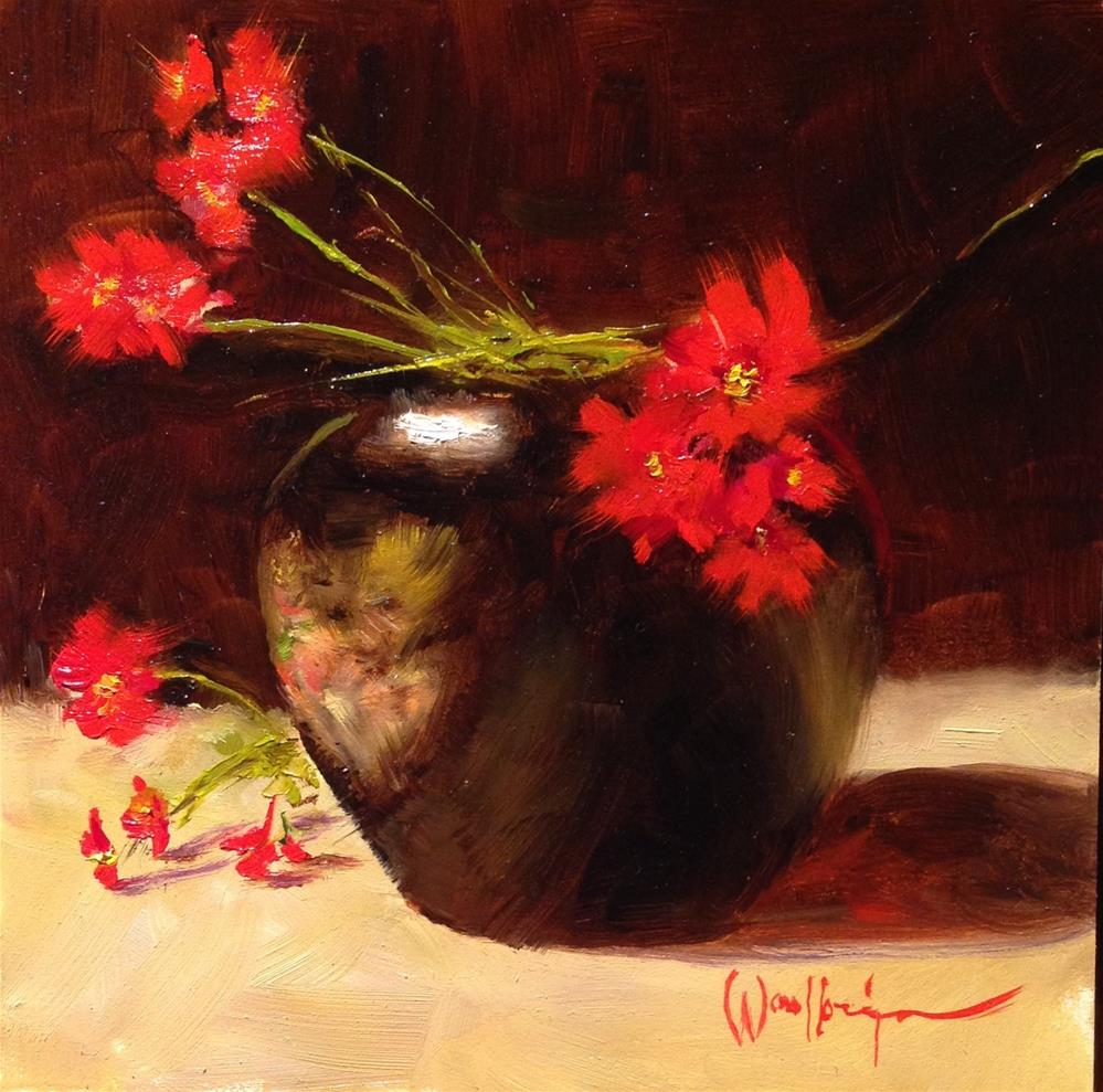 """Crowd Pleasers"" original fine art by Dorothy Woolbright"