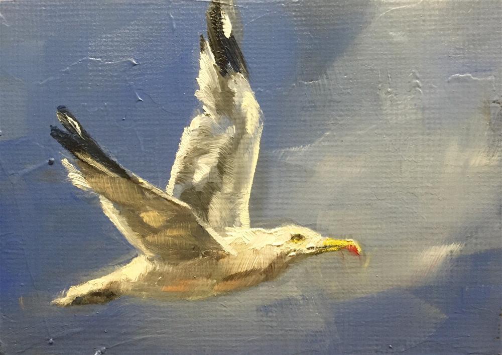 """Soar"" original fine art by Gary Bruton"