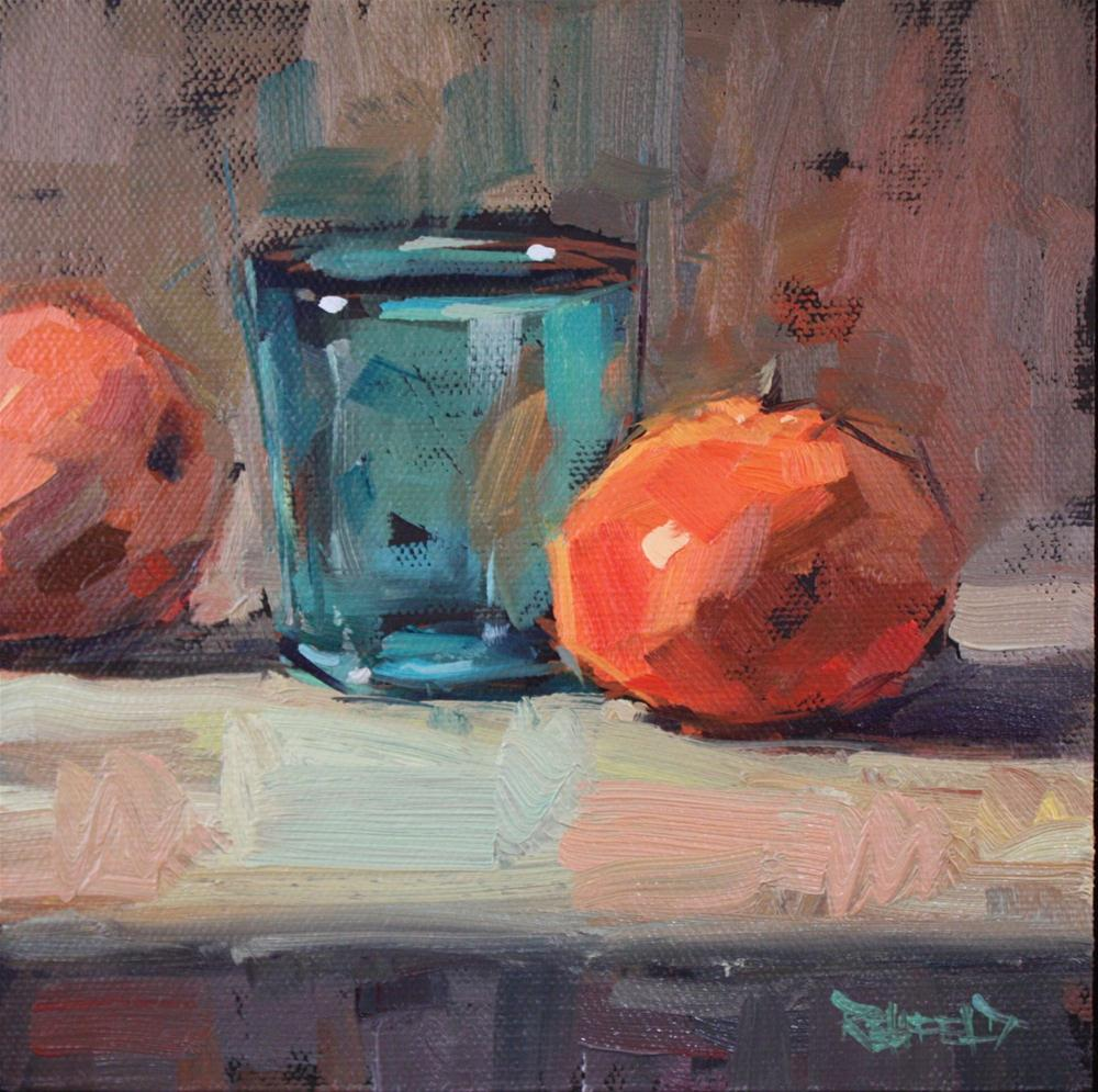 """Clementines"" original fine art by Cathleen Rehfeld"
