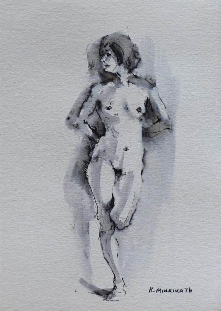 """sketchbook#18"" original fine art by Katya Minkina"
