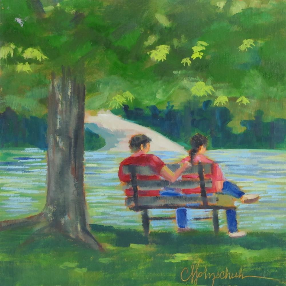 """Shade"" original fine art by Christine Holzschuh"
