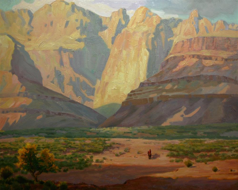 """Solitary Majesty"" original fine art by K.R. McCain"