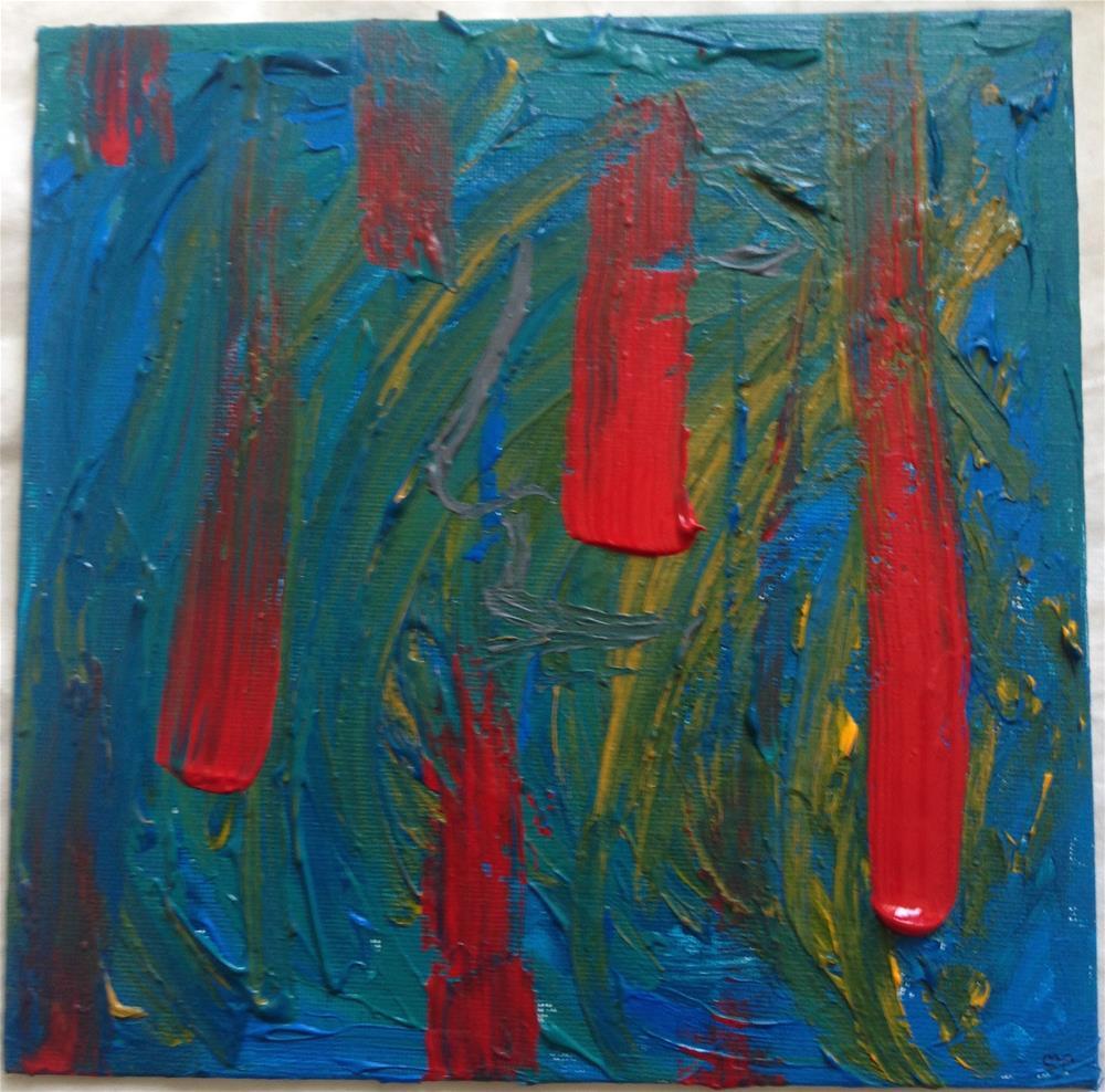 """""""Swath"""" original fine art by Ellis Charles Hoffmeister"""