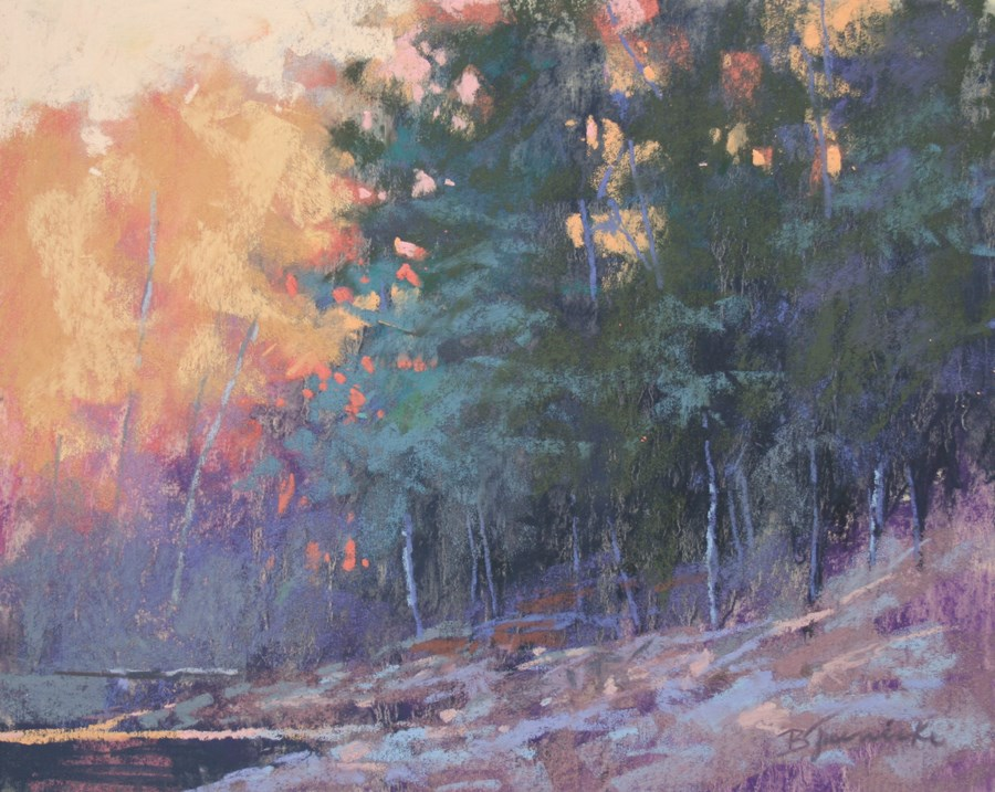 """Autumn Light"" original fine art by Barbara Jaenicke"