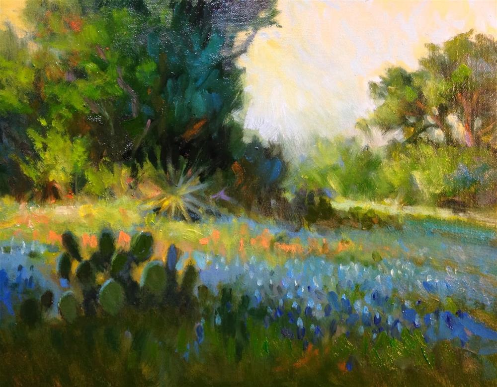 """Morning Light"" original fine art by David Forks"