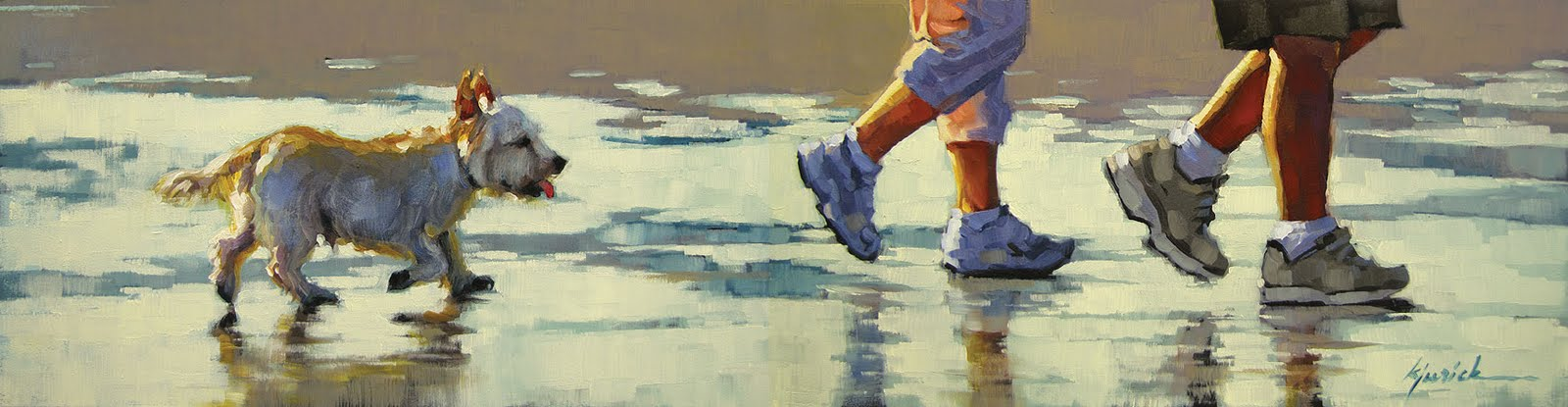 """""""The Follow Up"""" original fine art by Karin Jurick"""