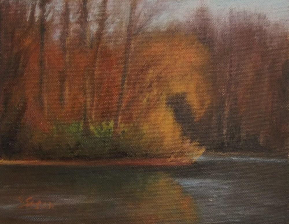 """Evening sun"" original fine art by Michael Sason"