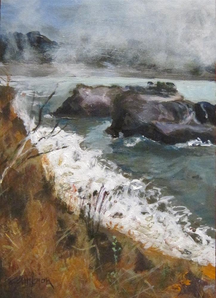 """The Headlands, Another View"" original fine art by Diane Campion"