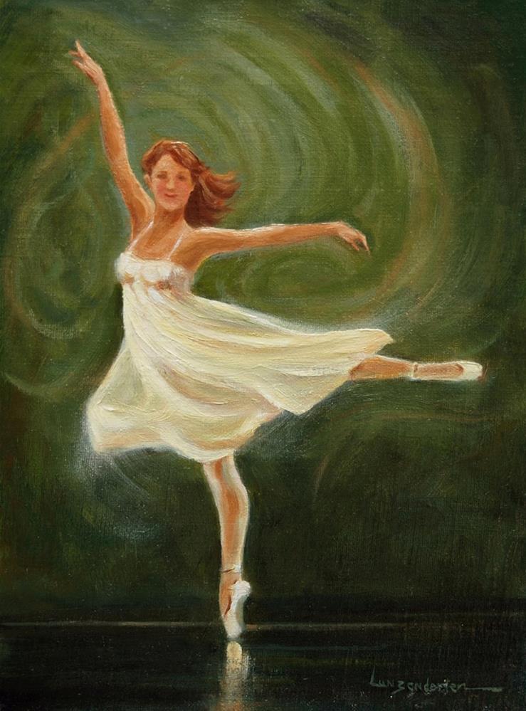 """GOTTA DANCE"" original fine art by Dj Lanzendorfer"