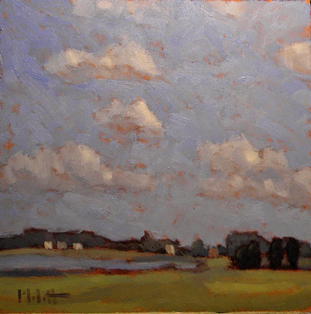 """Contemporary Impressionism At the Pond"" original fine art by Heidi Malott"