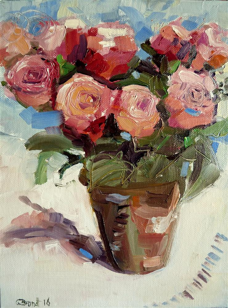 """Bouquet No.4"" original fine art by Claudia Brandt"