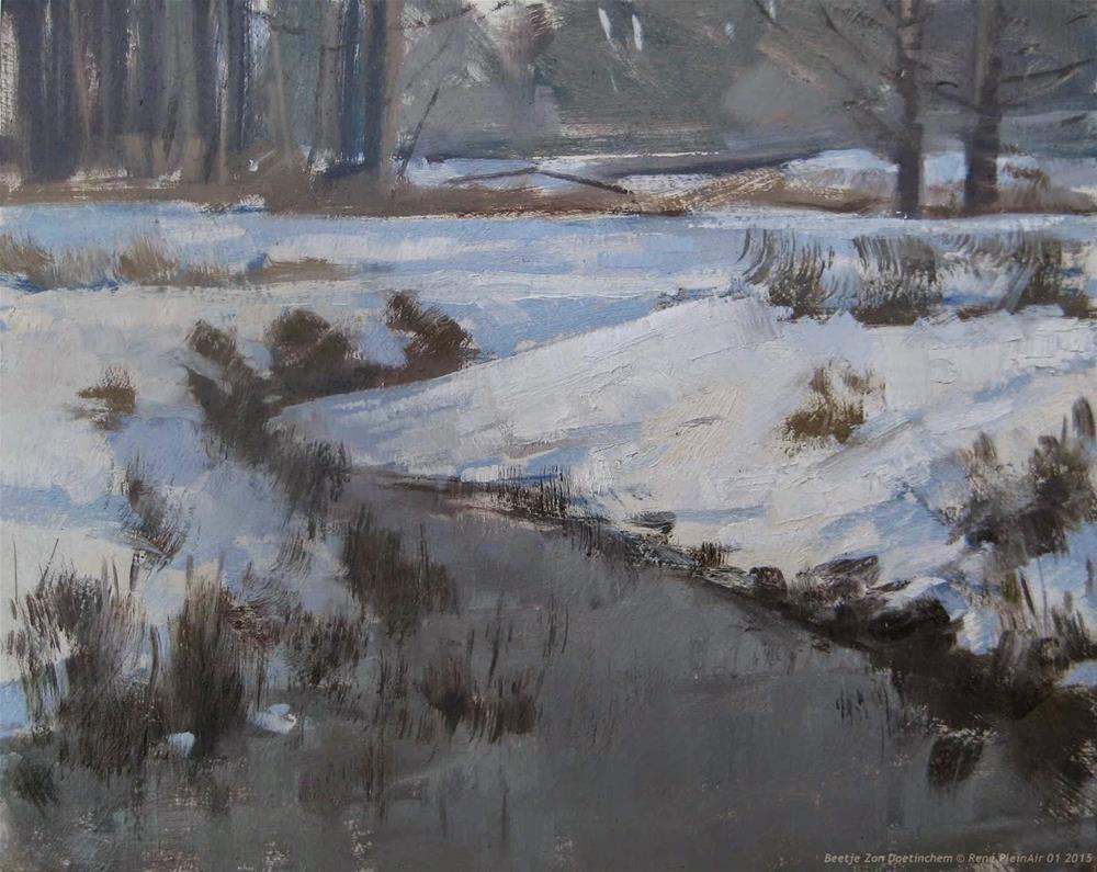 """Little bit of Sunlight Doetinchem, The Netherlands"" original fine art by René PleinAir"