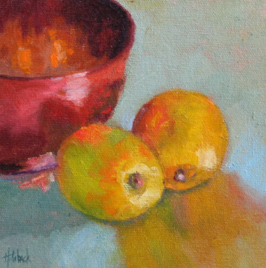 """Esfahan Bowl"" original fine art by Pam Holnback"