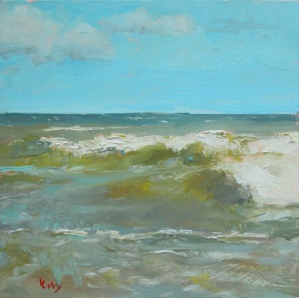 """Summer Waves"" original fine art by Randall Cogburn"