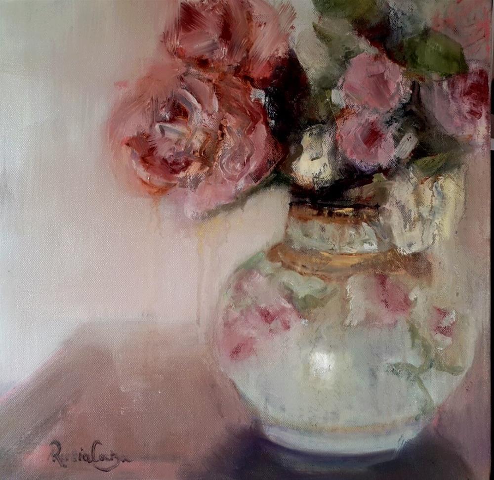 """""""Vintage"""" original fine art by Rentia Coetzee"""