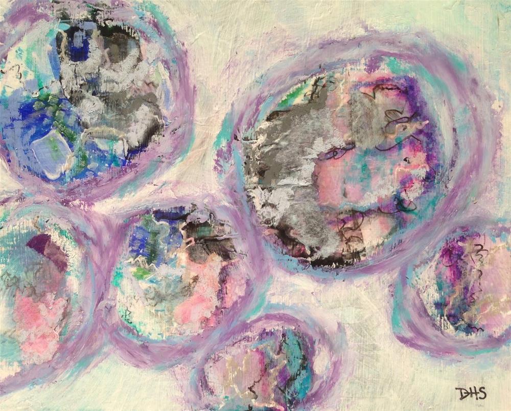 """""""Time Warp"""" original fine art by Dotty  Seiter"""