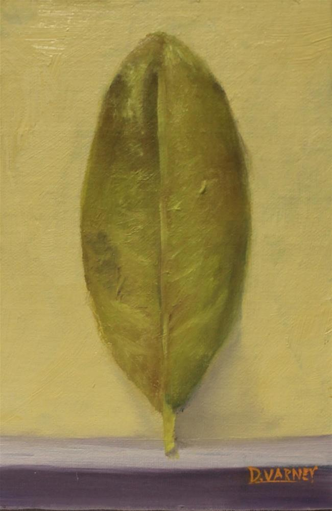 """Leaf"" original fine art by Daniel Varney"