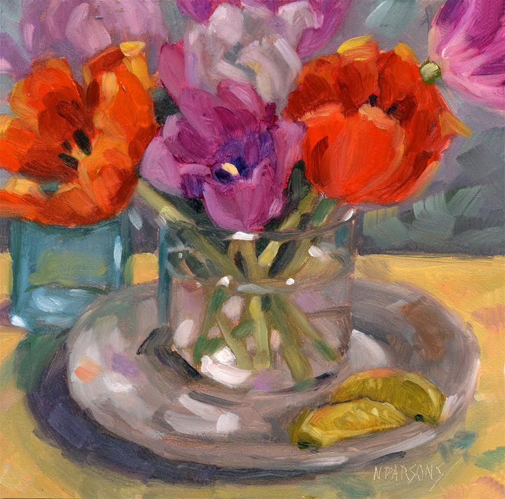 """Marcia, Marcia, Marcia"" original fine art by Nancy Parsons"