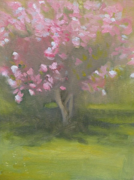"""Springtime"" original fine art by Lori Jacobs - Farist"