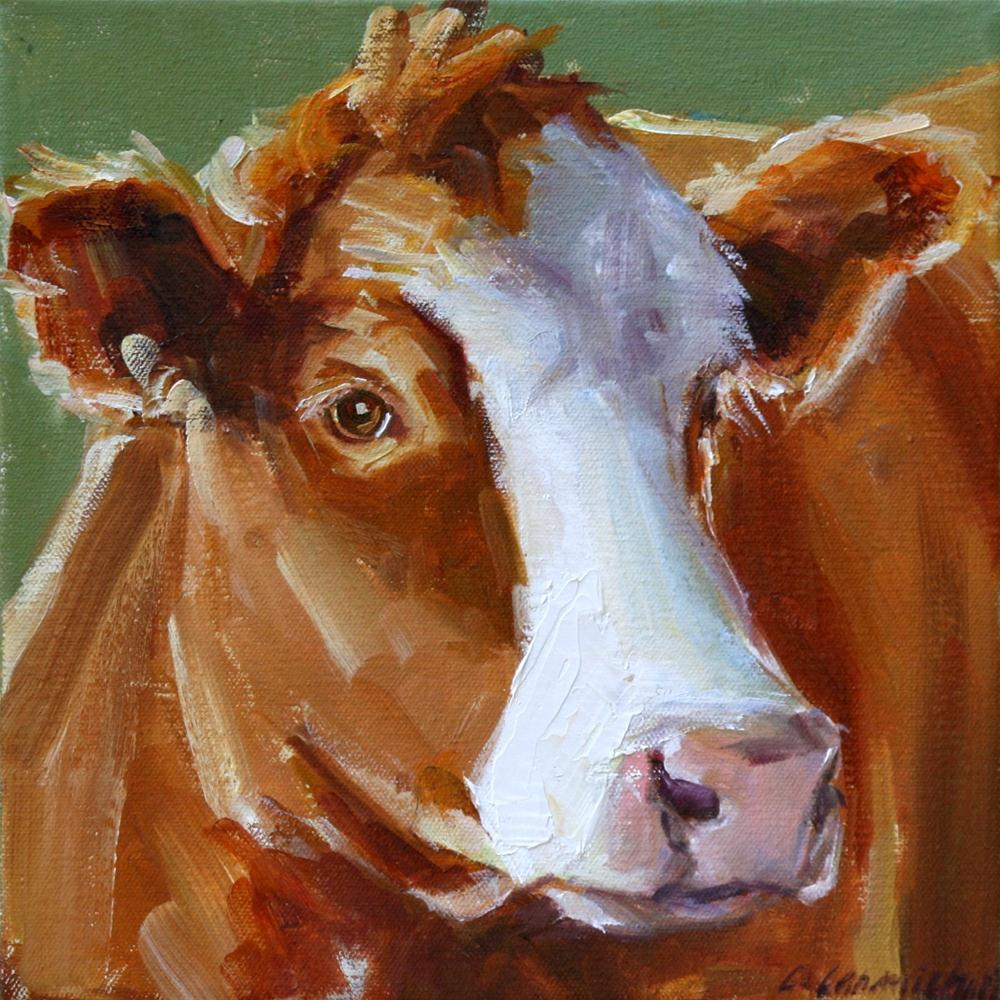 """ginger"" original fine art by Carol Carmichael"