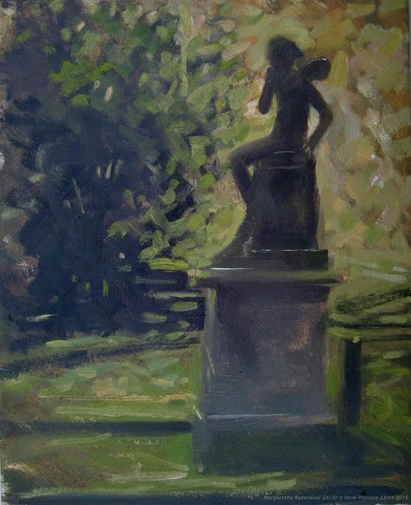 """Margaretha Rozendaal The Netherlands"" original fine art by René PleinAir"