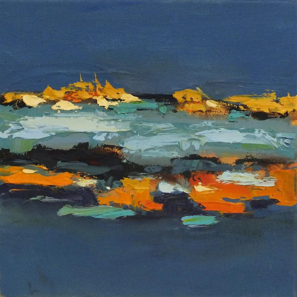 """Landscape 146"" original fine art by Ewa Kunicka"