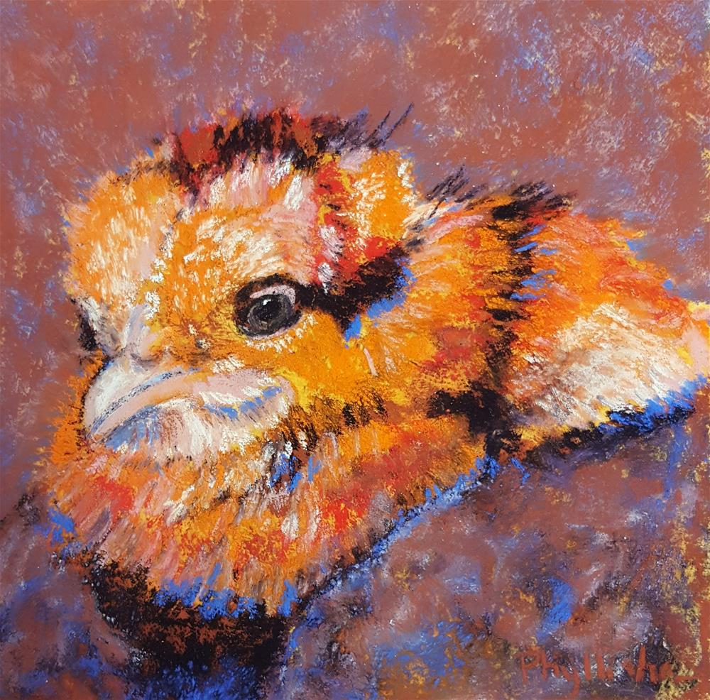 """Little Chick"" original fine art by Phyllisha Hamrick"
