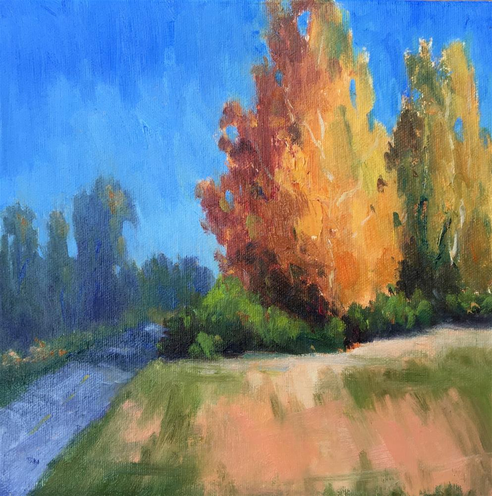 """Autumn's Offering-Redo"" original fine art by Victoria  Biedron"
