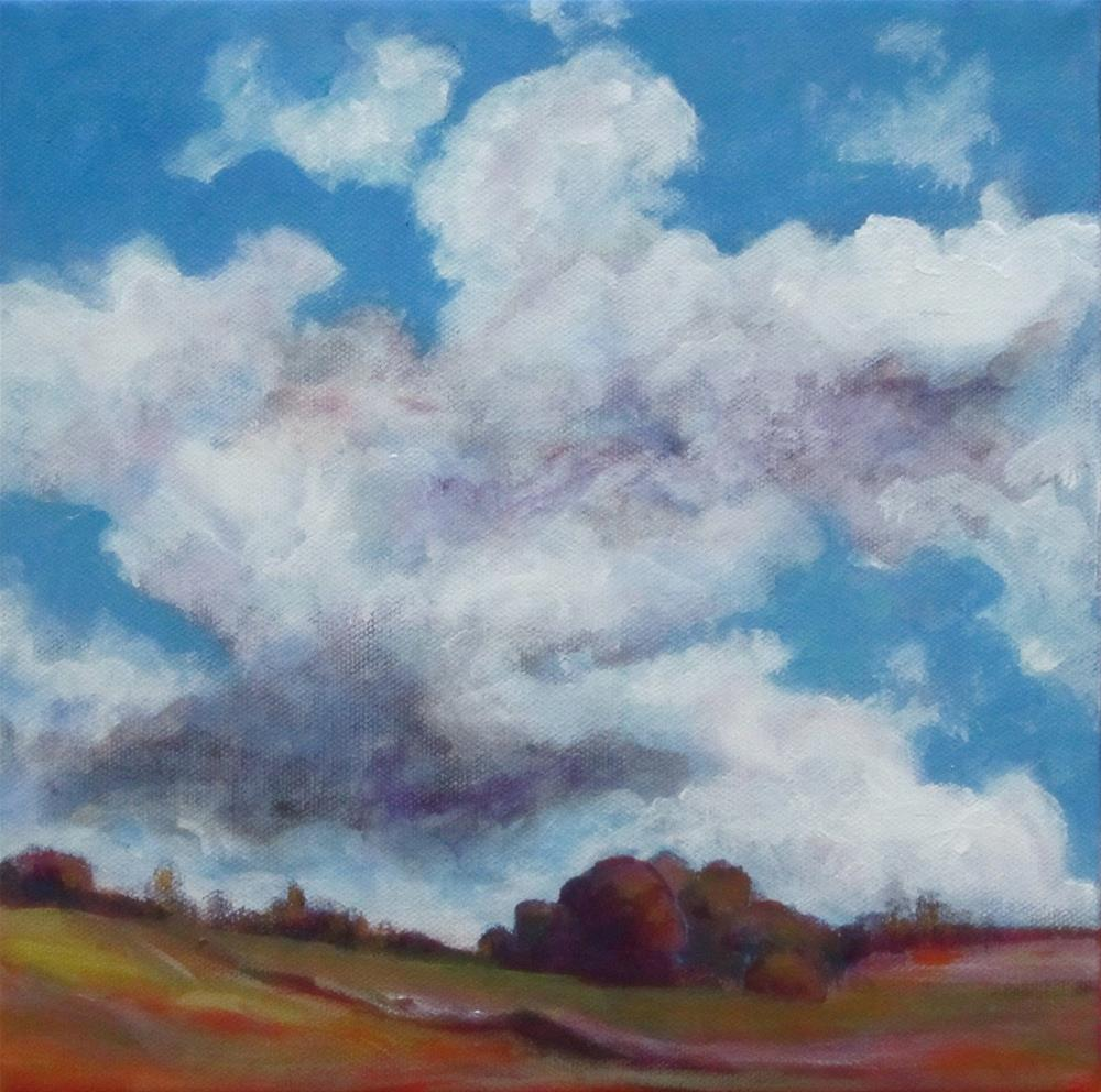 """Big Weather Day"" original fine art by Patricia MacDonald"