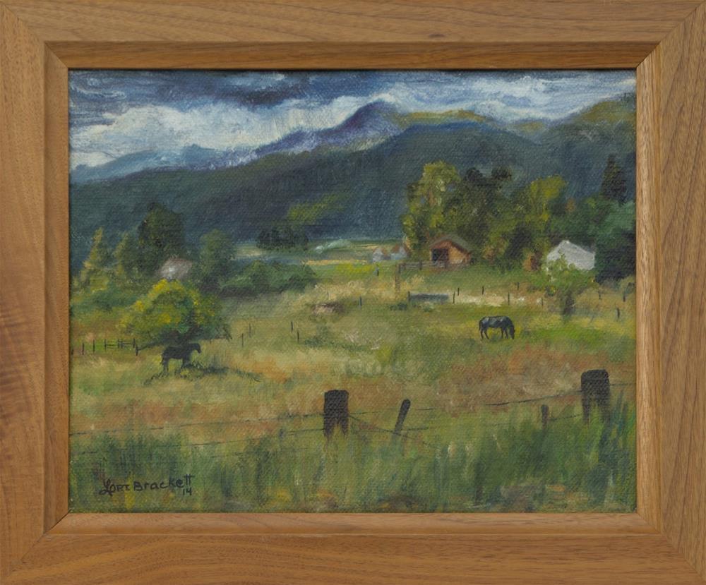 """Swan Valley Residents"" original fine art by Lori Brackett"