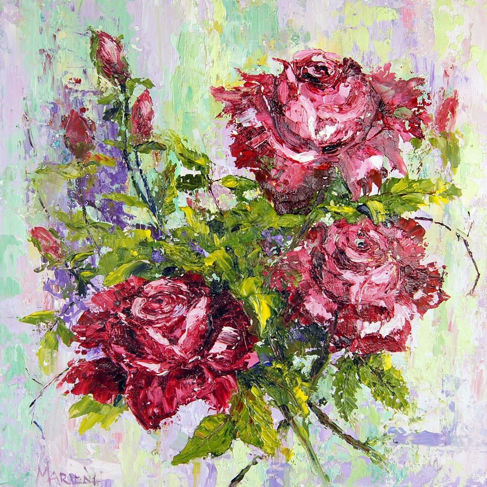 """Sweet Scent"" original fine art by Marion Hedger"