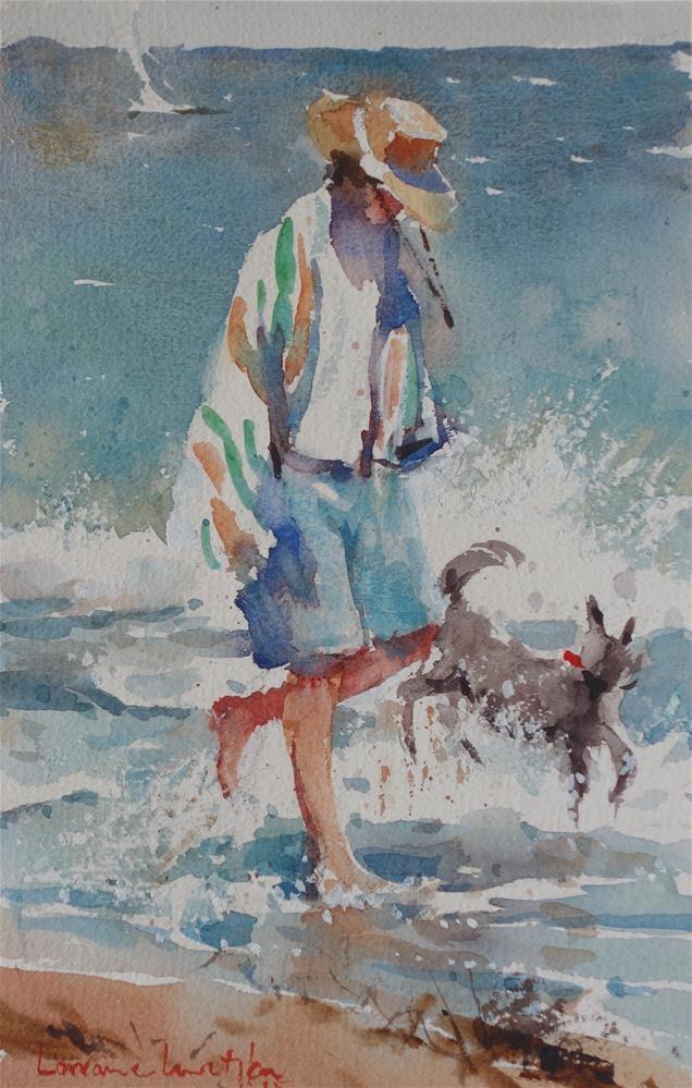 """Midday walk"" original fine art by Lorraine Lewitzka"