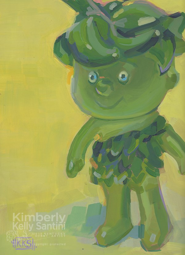 """Sprout"" original fine art by Kimberly Santini"