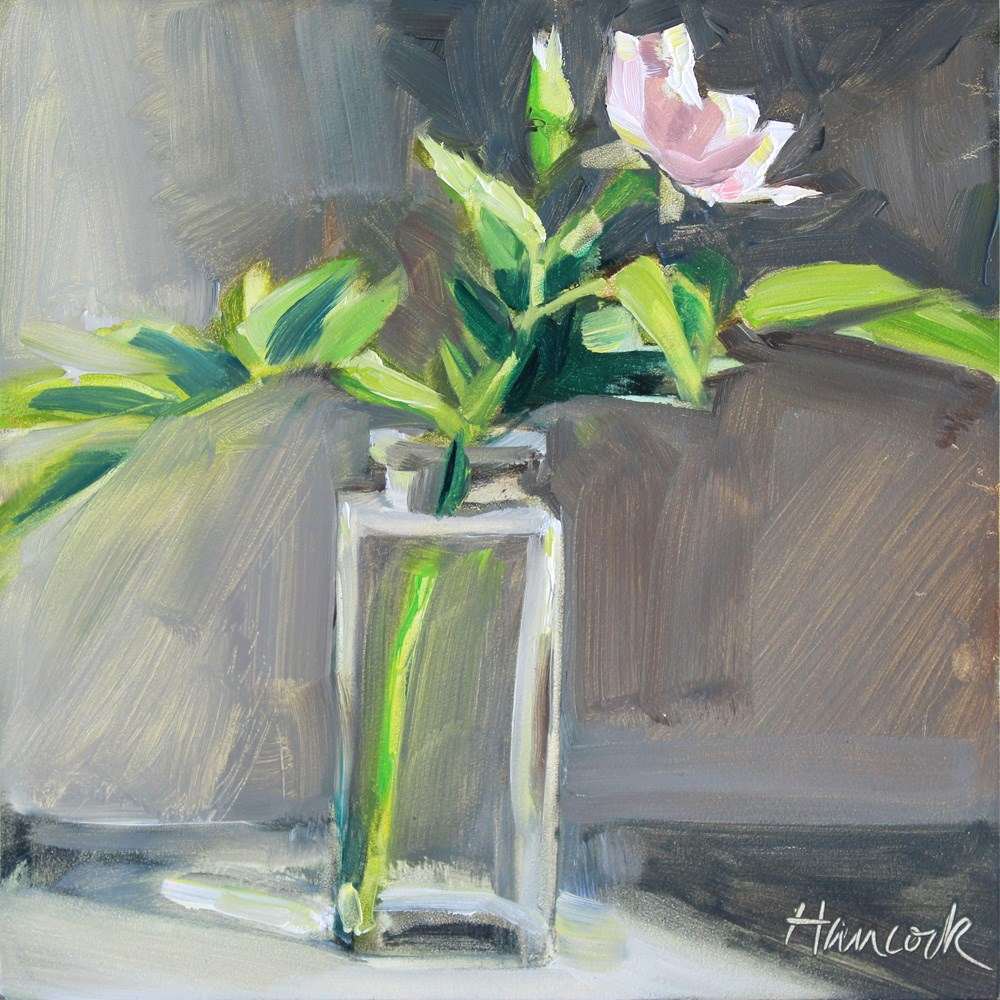 """Rose in Profie View"" original fine art by Gretchen Hancock"