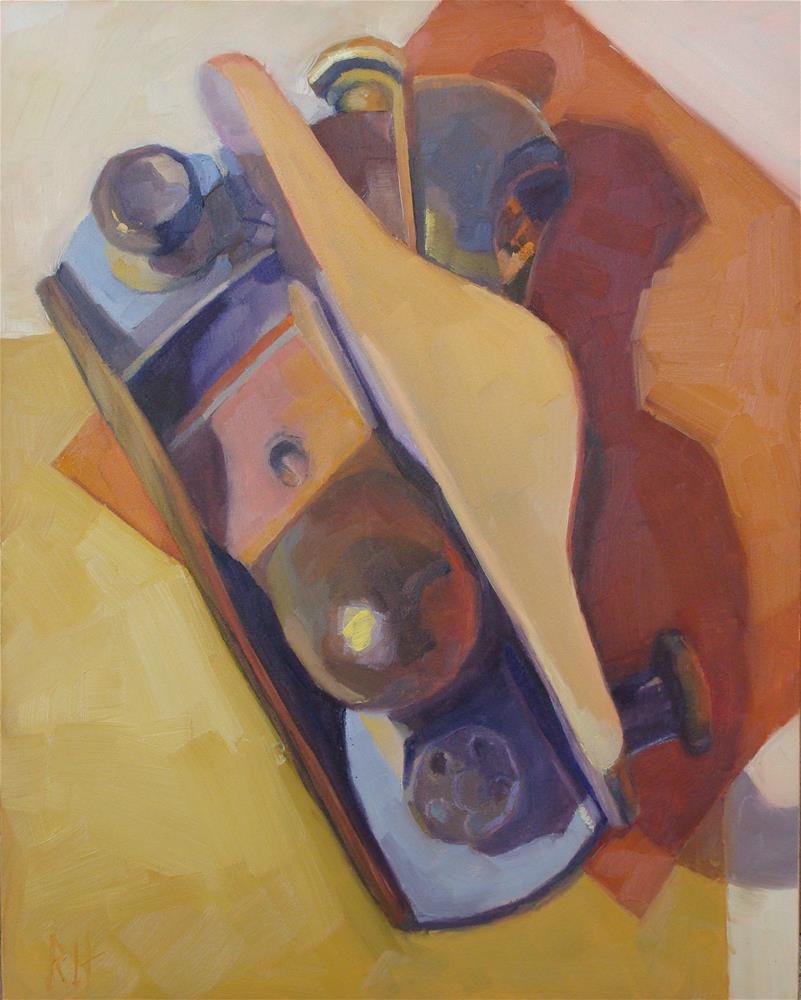 """Odd Planes"" original fine art by Rebecca Helton"