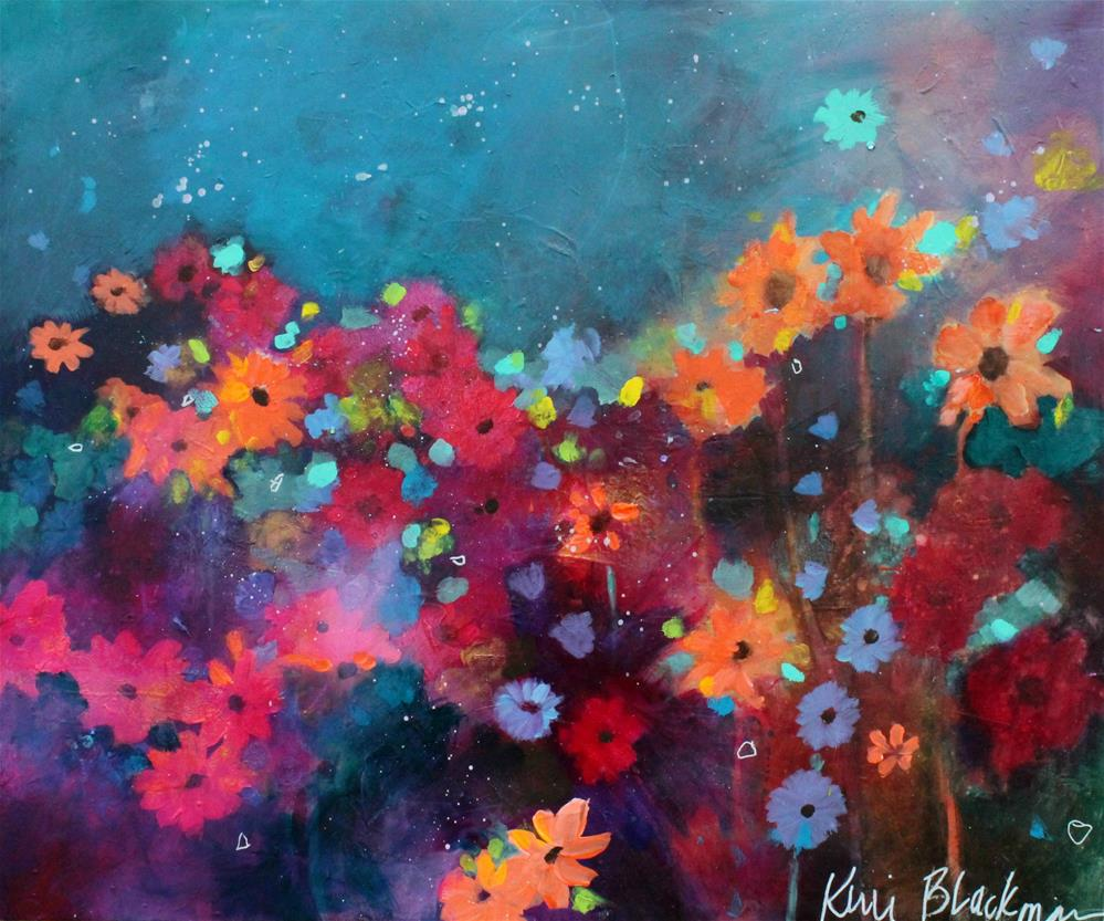 """Garden Party"" original fine art by Kerri Blackman"