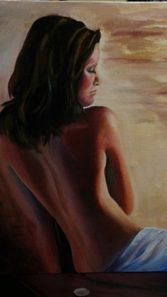 """Naked truth"" original fine art by Ronel Alberts"