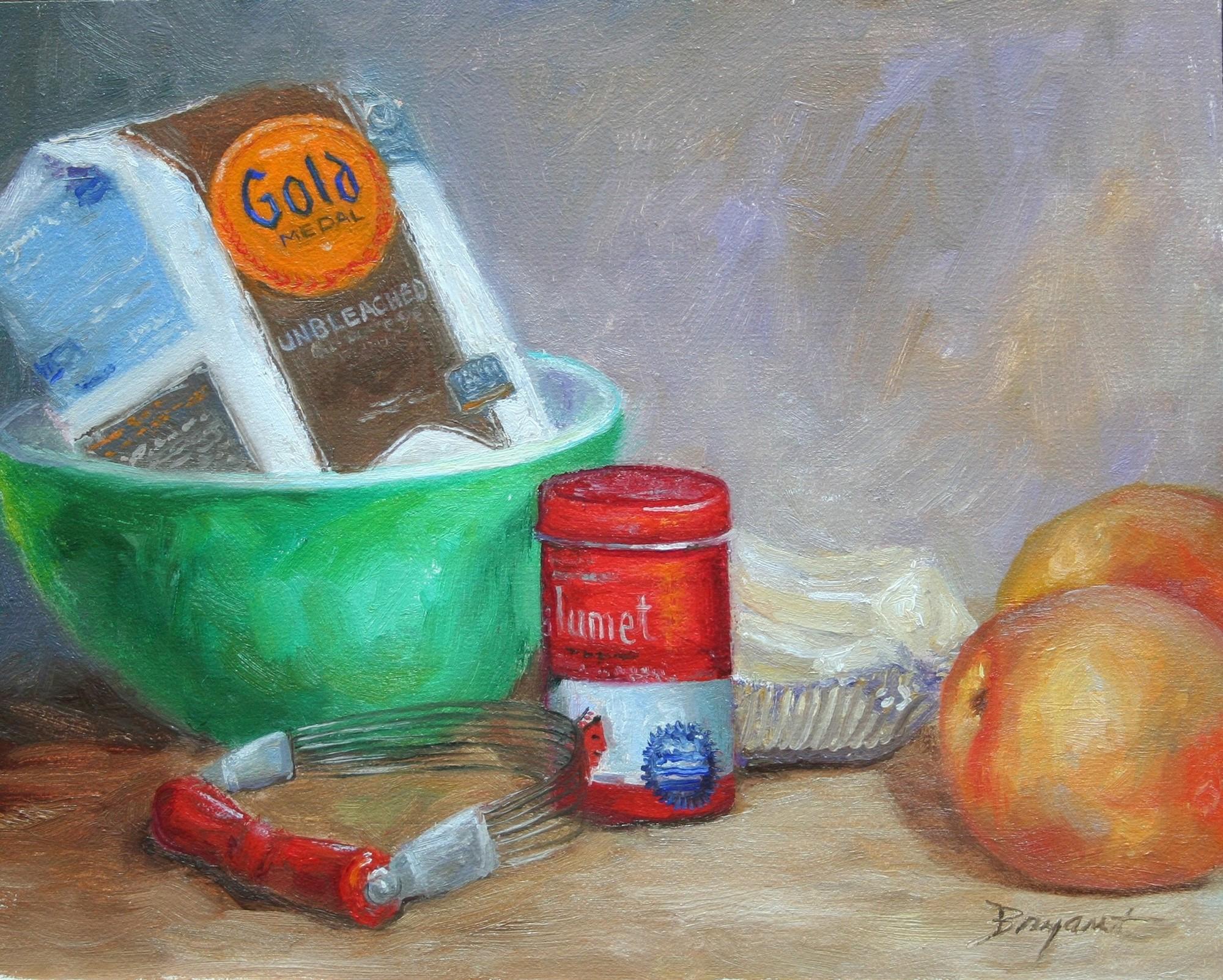 """Pie Tonight!"" original fine art by Debra Bryant"