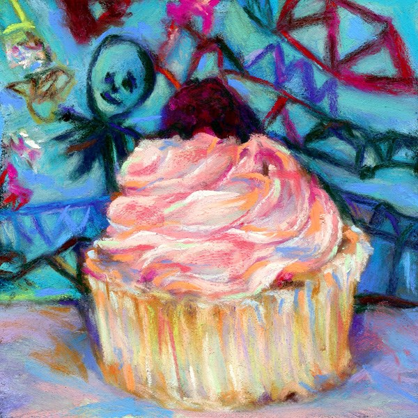 """""""SWEET TREATS SOLD - Thanks Tirage Art!!"""" original fine art by Susan Roden"""