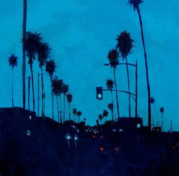 """MONDAY MORNING BLUES"" original fine art by Gerald Schwartz"