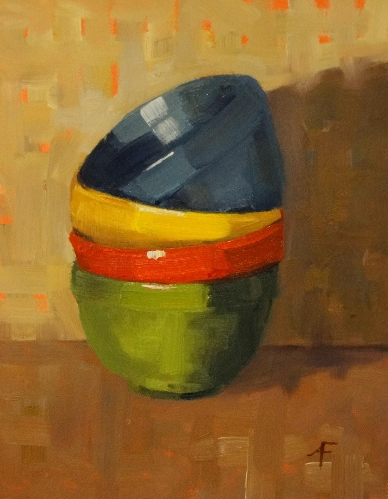 """Nesting Time Again, 8x10 (Sold)"" original fine art by Ann Feldman"