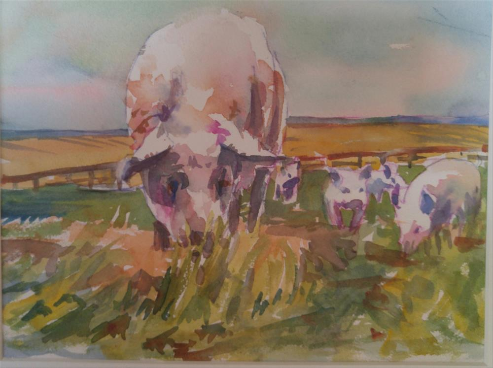 """Free Range"" original fine art by angela scully"