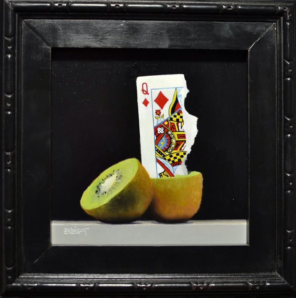 """#357 Queen of The Kiwis"" original fine art by Brian Burt"