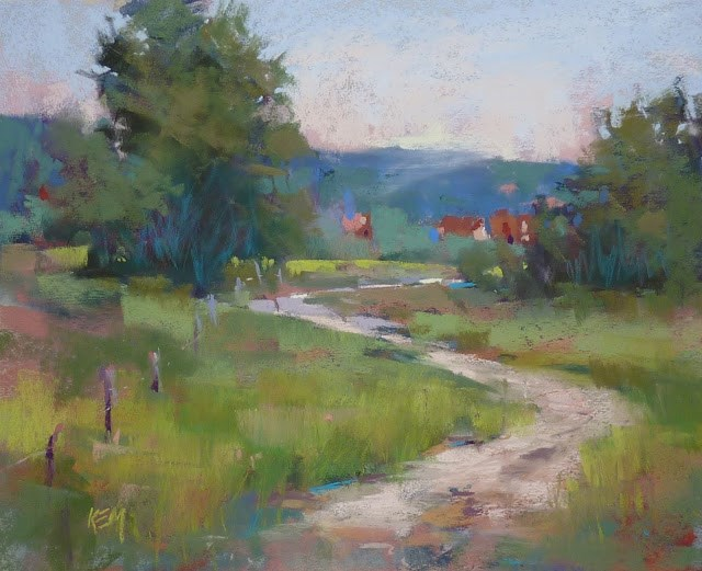 """A Week in Croatia: The Studio"" original fine art by Karen Margulis"